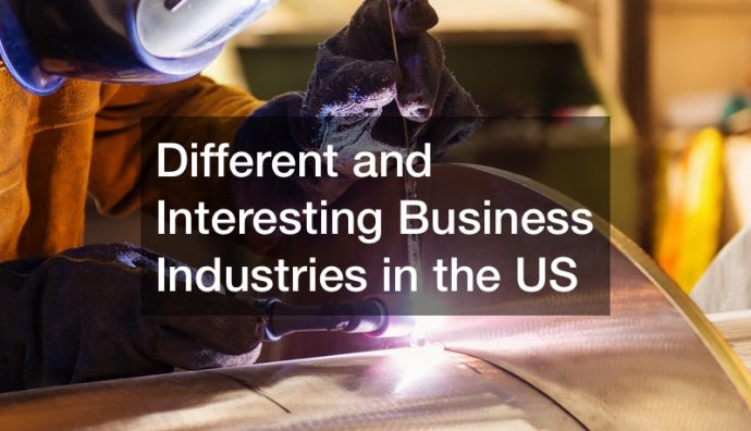 business industries in the us